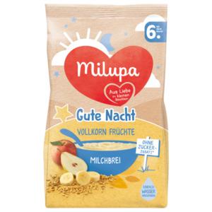 Milupa Gute Nacht Vollkorn Früchte Milchbrei ab dem 6. Monat 400g