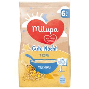 Milupa Gute Nacht 7 Korn Milchbrei ab dem 6. Monat 400g