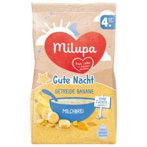 Milupa Gute Nacht Getreide Banane Milchbrei nach dem 4. Monat 400g