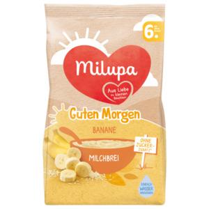 Milupa Guten Morgen Banane Milchbrei ab dem 6. Monat 400g