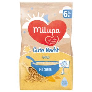 Milupa Gute Nacht Grieß Milchbrei ab dem 6. Monat 400g