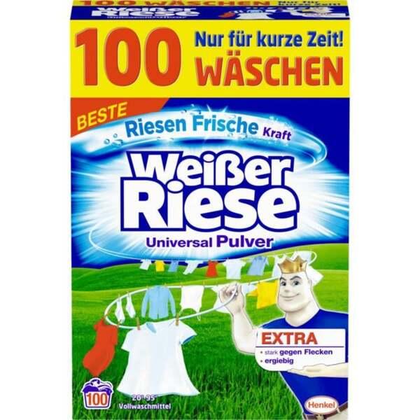 Weißer Riese Universal Pulver, 100 WL 0.16 EUR/1 WL