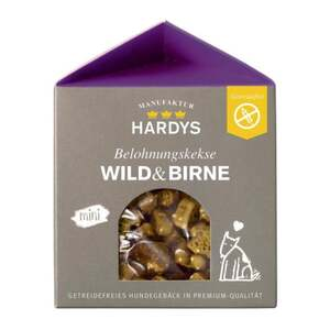 HARDYS Manufaktur Belohnungskekse Wild & Birne 3.00 EUR/100 g