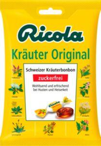 Ricola Kräuterbonbons zuckerfrei 75 g