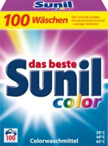 Sunil Colorwaschmittel 100 WL