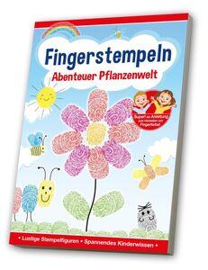 Kreativbuch, Fingerstempeln - Abenteuer Pflanzenwelt