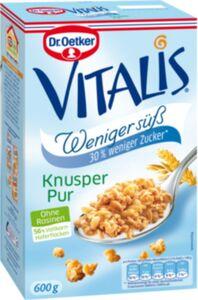 Dr. Oetker Vitalis weniger süß 600 g