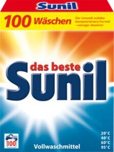 Sunil Vollwaschmittel 100 WL
