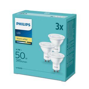 Philips LED 3er Set - GU10 Reflektor 50W