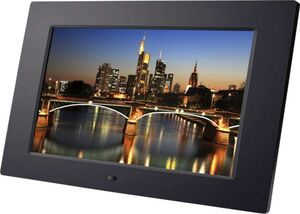 "BRAUN DigiFrame 1060+4 GB, schwarz (10.1""LCD+LED, 1024x600, 16:9, +Video+MP3)"
