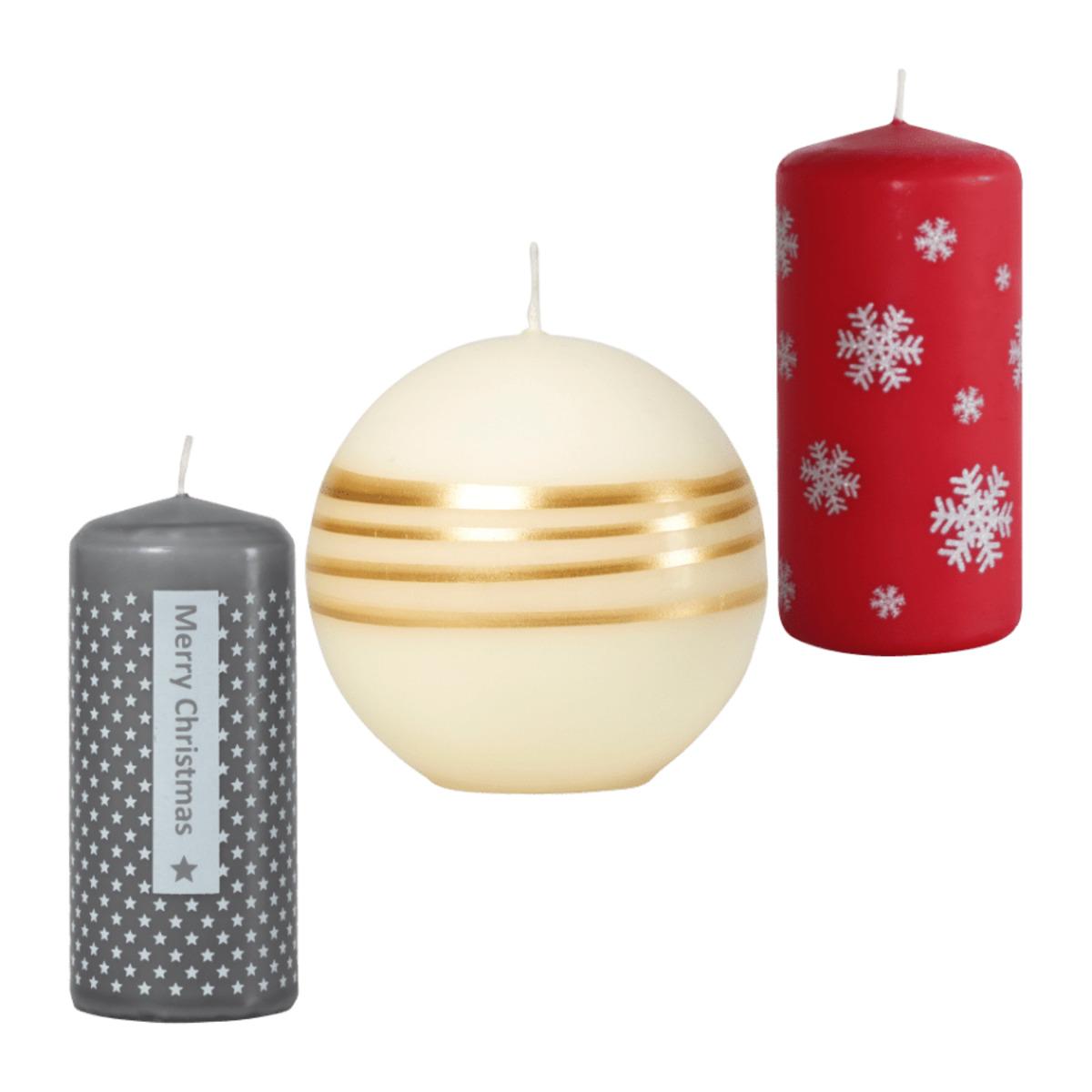 """Bild 1 von LIVING ART     Kerze(n) """"Weihnachten"""""""