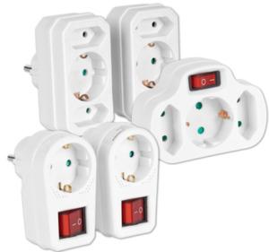 HOME IDEAS LIVING Steckdosen- oder Schutzkontaktadapter