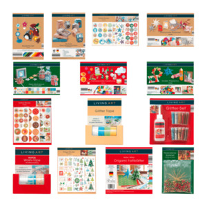 LIVING ART     Weihnachts-Kreativ-Set