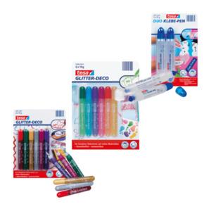 tesa Duo Klebe-Pen / Glitter-Deco