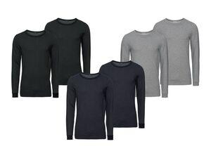 LIVERGY® 2 Herren Thermo-Unterhemden
