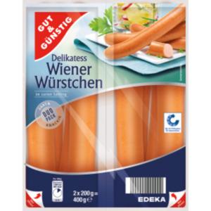 Gut & Günstig Delikatess-Wiener Würstchen