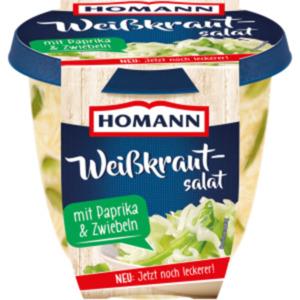 Homann Kartoffelsalat, Nudelsalat oder Frischer Weißkrautsalat