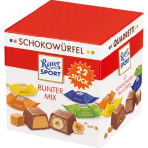 Ritter Sport Schokowürfel Bunter Mix