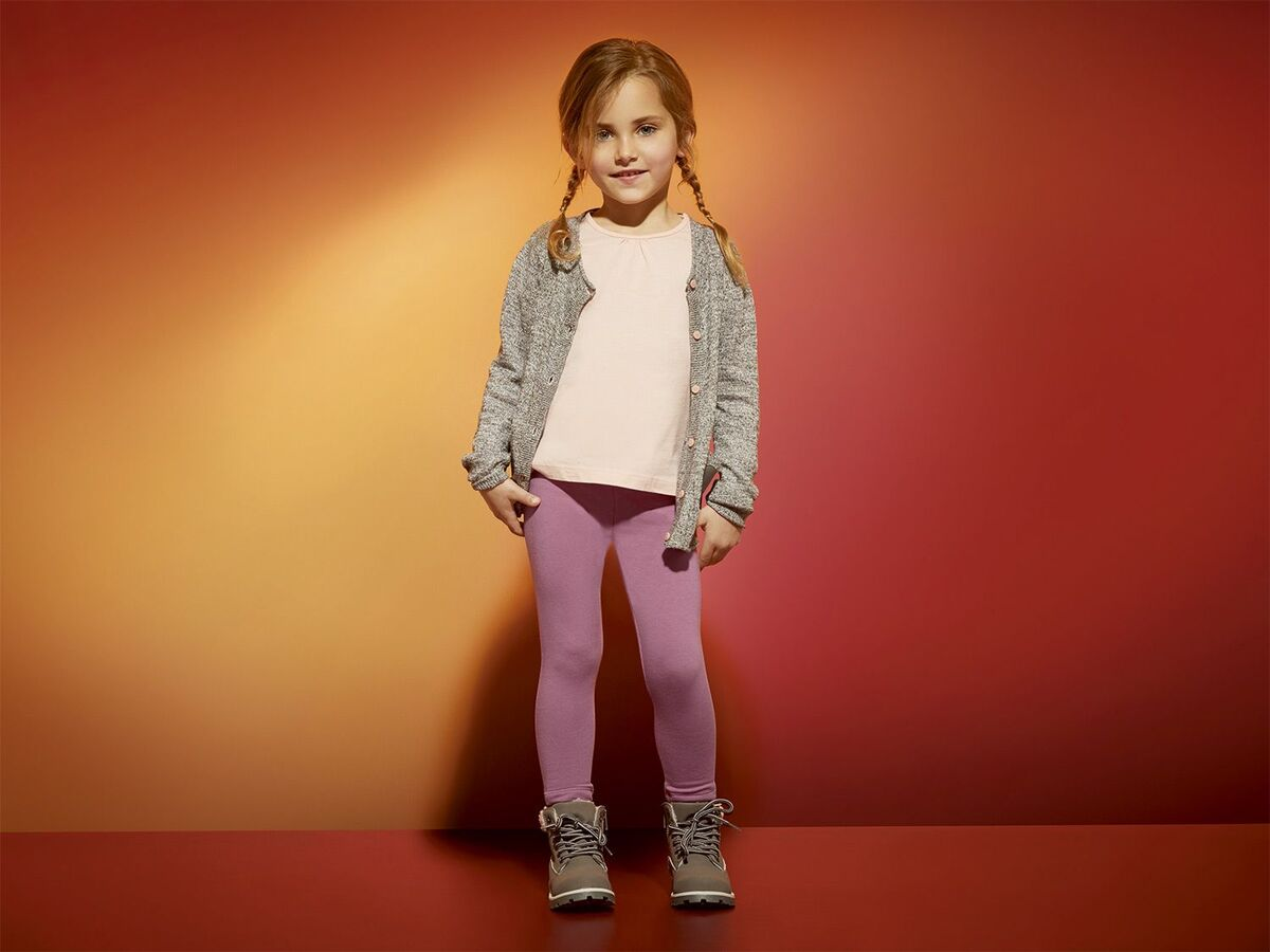 Bild 3 von LUPILU® Kleinkinder Mädchen Thermoleggings