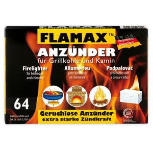 Flamax Grillkohle- und Kamin-Anzünder