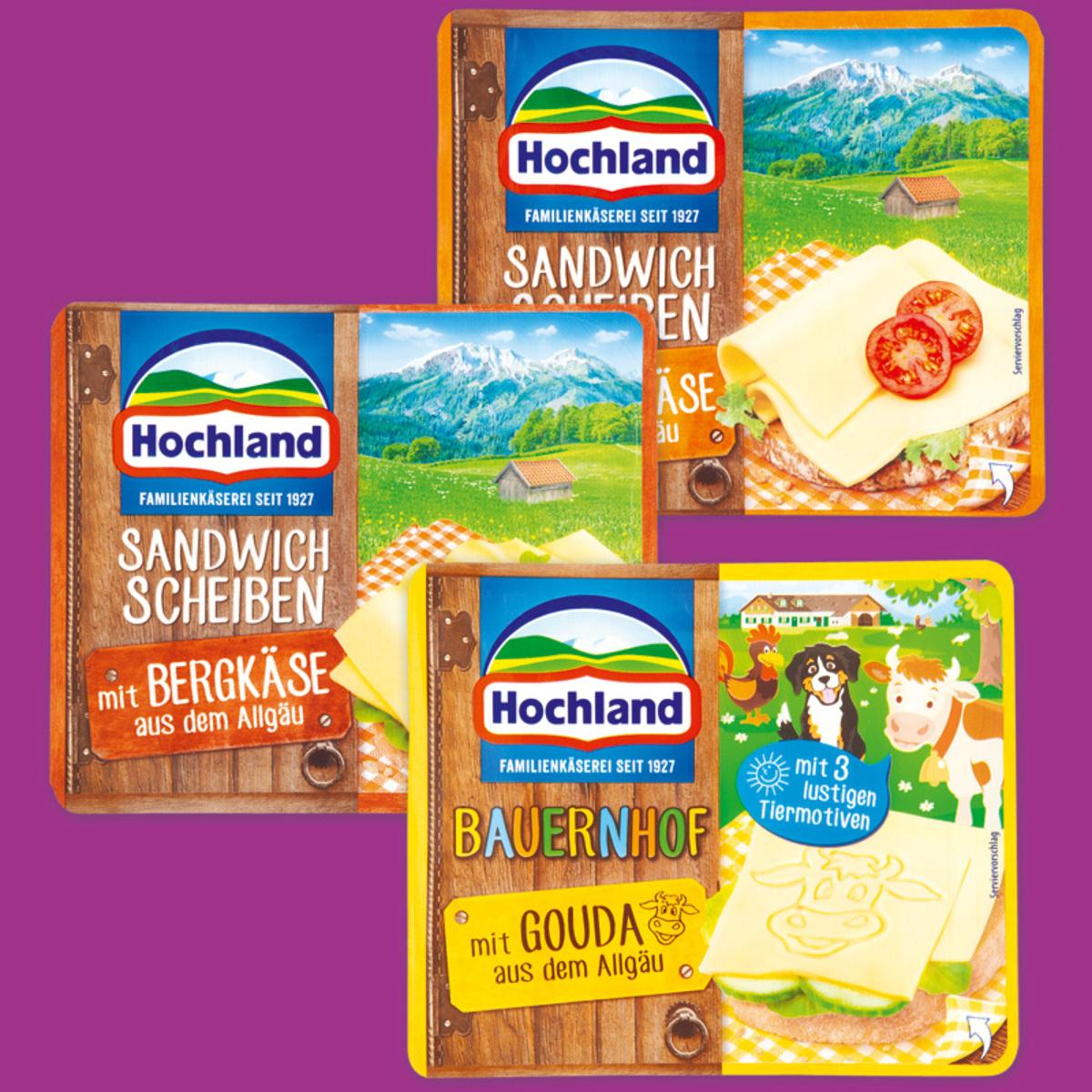 Bild 1 von Hochland Sandwichscheiben aus dem Allgäu