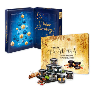 """Erlesene Gewürz-Selection"" Adventskalender"