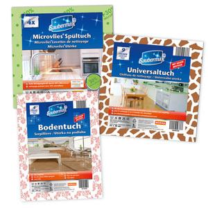 Saubermax Microvlies Spültuch / Bodentuch / Universaltuch