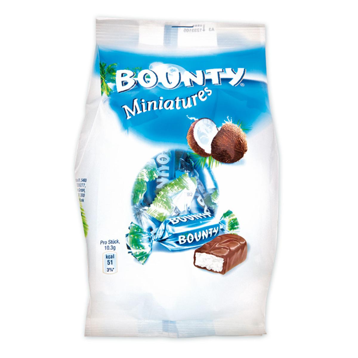 Bild 3 von Bounty/Twix/Mars/Snickers Miniatures