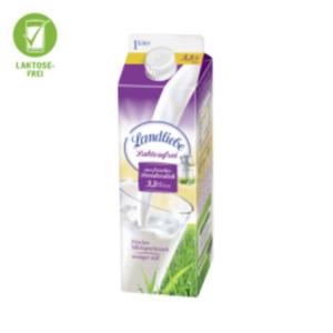Landliebe frische Landmilch laktosefrei