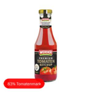 Werder Feinkost Premium Tomatenketchup