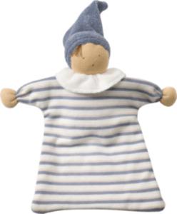 ALANA Baby Püppchen, in Bio-Baumwolle, blau, beige, für Mädchen und Jungen