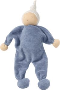 ALANA Baby Püppchen, in Bio-Baumwolle, blau,  für Mädchen und Jungen