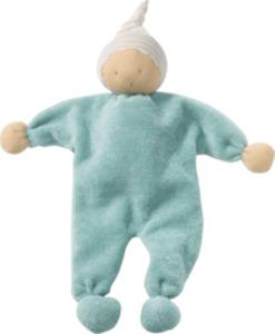 ALANA Baby Püppchen, in Bio-Baumwolle, blau, türkis, für Mädchen und Jungen