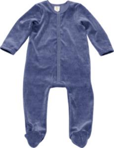 ALANA Kinder Schlafanzug, Gr. 98/104, in Bio-Baumwolle und recyceltem Polyacryl, blau, für Mädchen und Jungen