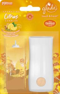 Glade Minispray Original Bonuspack Touch & Fresh Sparkling Citrus Sunrise (Zitrone, Kardamom & Ingwer)