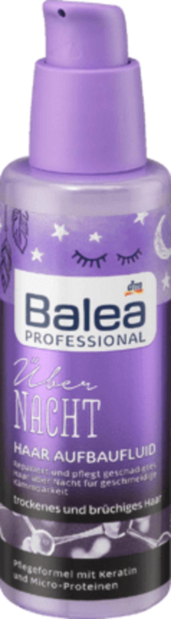 Balea Wonderful Repair Übernacht Aufbaufluid