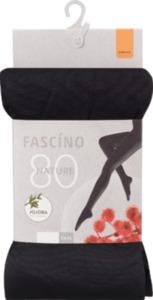 FASCÍNO Strumpfhose, mit EVO® Faser, 80 den, schwarz, Gr. 42/44