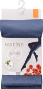 FASCÍNO Strumpfhose, mit EVO® Faser, 60 den, blau, Gr. 46/48