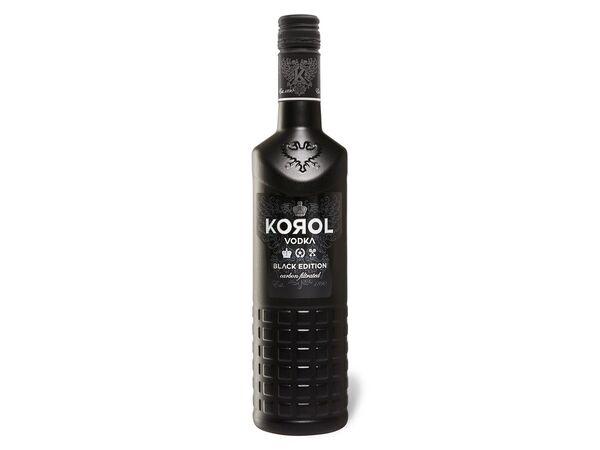Korol Vodka Black Edition Carbon Filtrated 42% Vol
