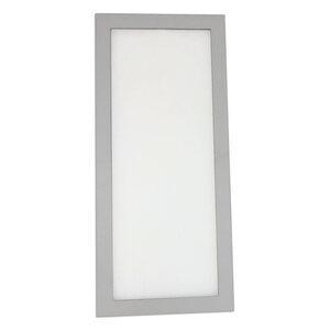 LED-Unterbauleuchte - silber - 23x10 cm - warmweiß - 2724025000