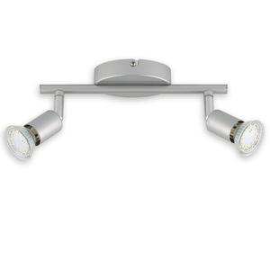 LED-Spotbalken - titan - 2-flammig - warmweiß
