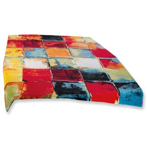 Teppich - bunte Quadrate - 120x170 cm