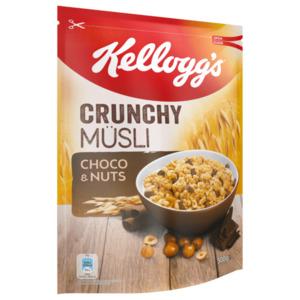 Kellogg's Crunchy Müsli Choco & Nuts