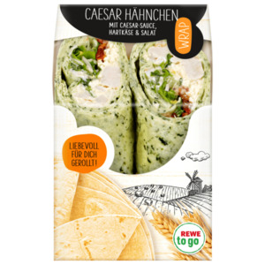 REWE to go Wrap Hähnchen Ceasar