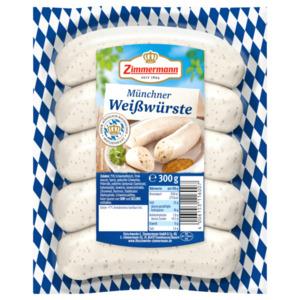 Zimmermann 5 Münchner Weißwürste