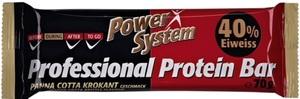 Power System Professional Protein Bar Panna Cotta Krokant Geschmack 40% Eiweiss 70 g