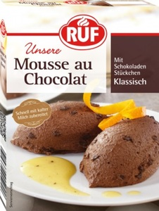Ruf Mousse au Chocolat Klassisch 100 g
