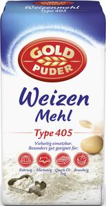 Goldpuder Weizenmehl Type 405 1 kg