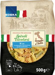 EDEKA Italia Nudeln Spirali Tricolori 500 g