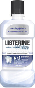 Listerine Mundspülung Advanced White 0,5 ltr
